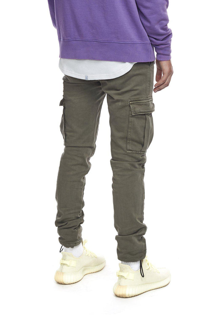 Kuwalla Tee Cargo Trouser in Olive-The Trendy Walrus