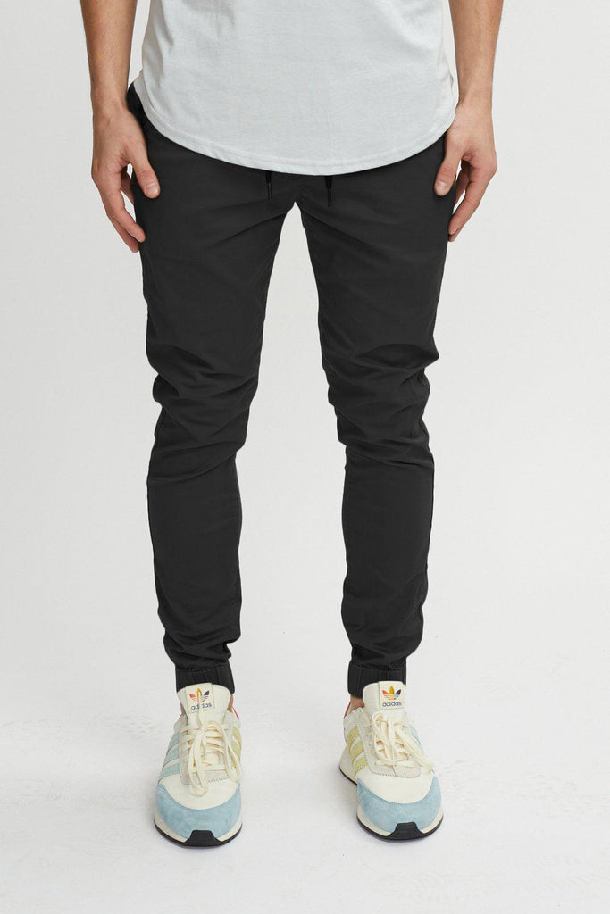 Kuwalla Tee Chino Jogger in Black-The Trendy Walrus