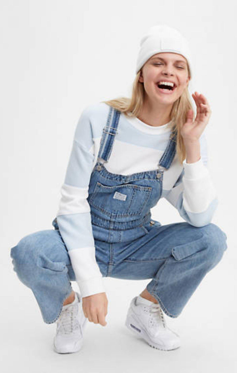 Levi's Dead Stone Vintage Overalls-The Trendy Walrus