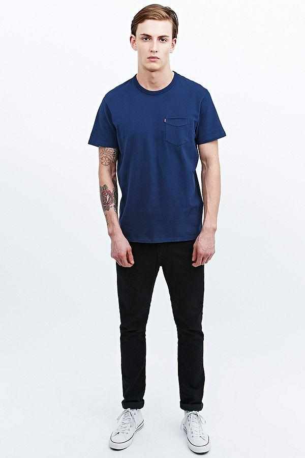 Levi's Saturated Pocket Tee-The Trendy Walrus