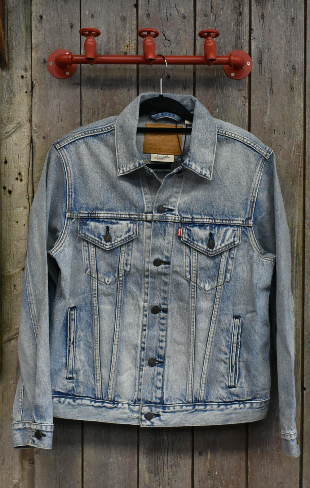 Levi's Vintage Fit Trucker Jacket-The Trendy Walrus