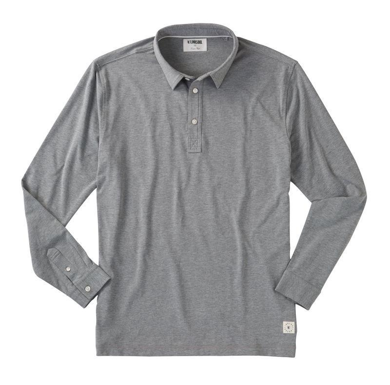 Linksoul Anza Long-Sleeve Polo-The Trendy Walrus