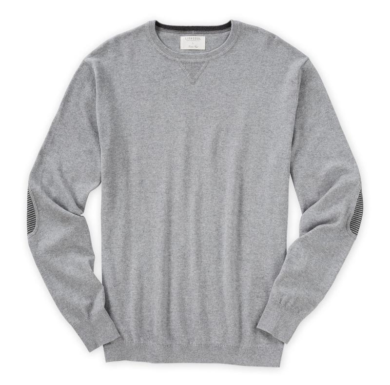 Linksoul Cotton-Cashmere Elbow Patch Sweater-The Trendy Walrus