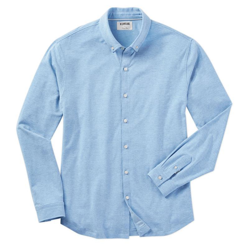Linksoul Rambler Long Sleeve Button-Down Shirt-The Trendy Walrus