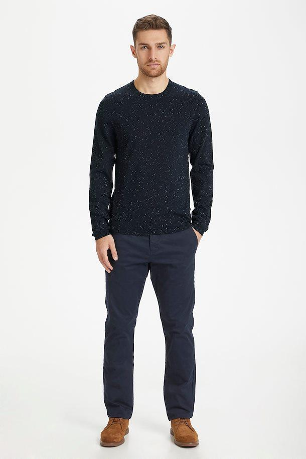 Matinique Marole Knitted Pullover in Dark Navy-The Trendy Walrus