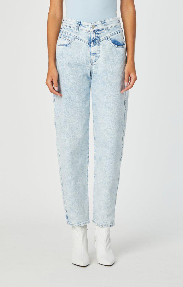 Mavi Lola High Rise Balloon Jeans-The Trendy Walrus