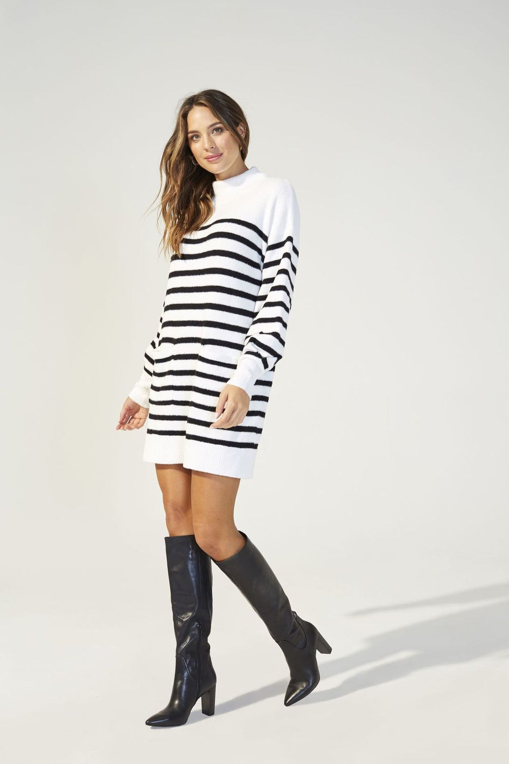 Minkpink Indhra Stripe Knit Dress-The Trendy Walrus