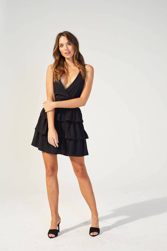 Minkpink Last Song Tiered Dress-The Trendy Walrus