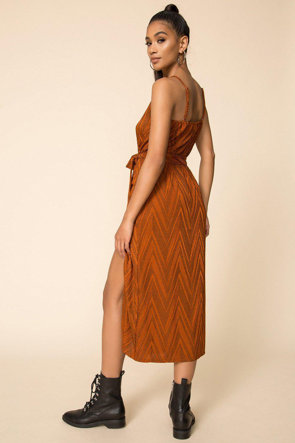 Minkpink Strappy Wrap Dress-The Trendy Walrus