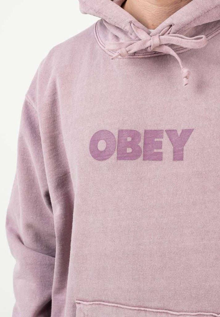 Obey Bold Ideals Sustainable Hoodie in Gallnut-The Trendy Walrus