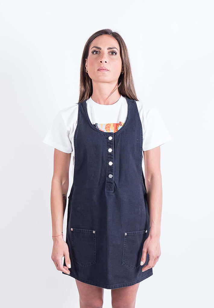 Obey Jeanne Denim Dress-The Trendy Walrus
