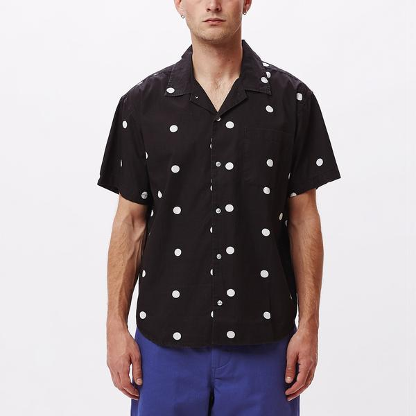 Obey Nick Woven SS Black-The Trendy Walrus