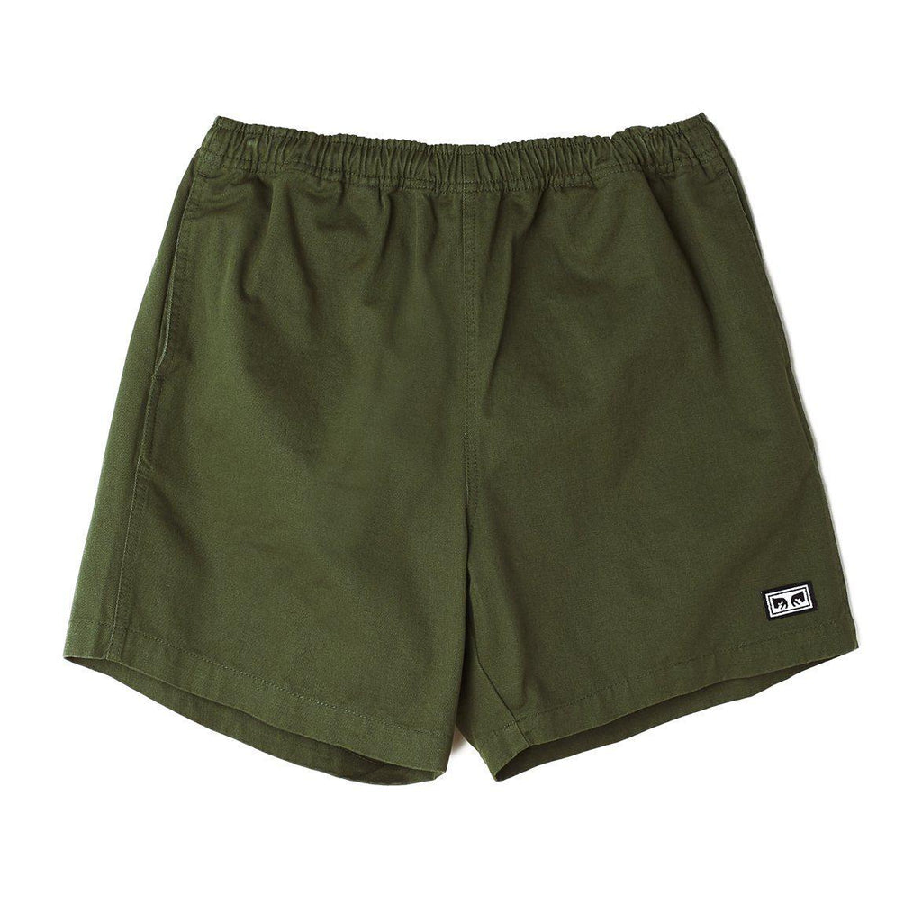 Obey Relaxed Short Green-The Trendy Walrus