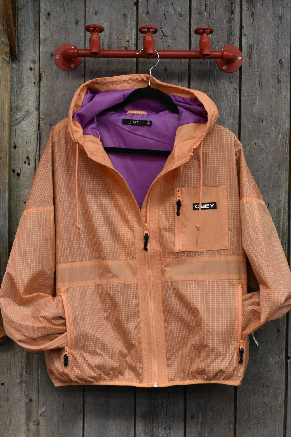 Obey Riverbed Zip Jacket-The Trendy Walrus