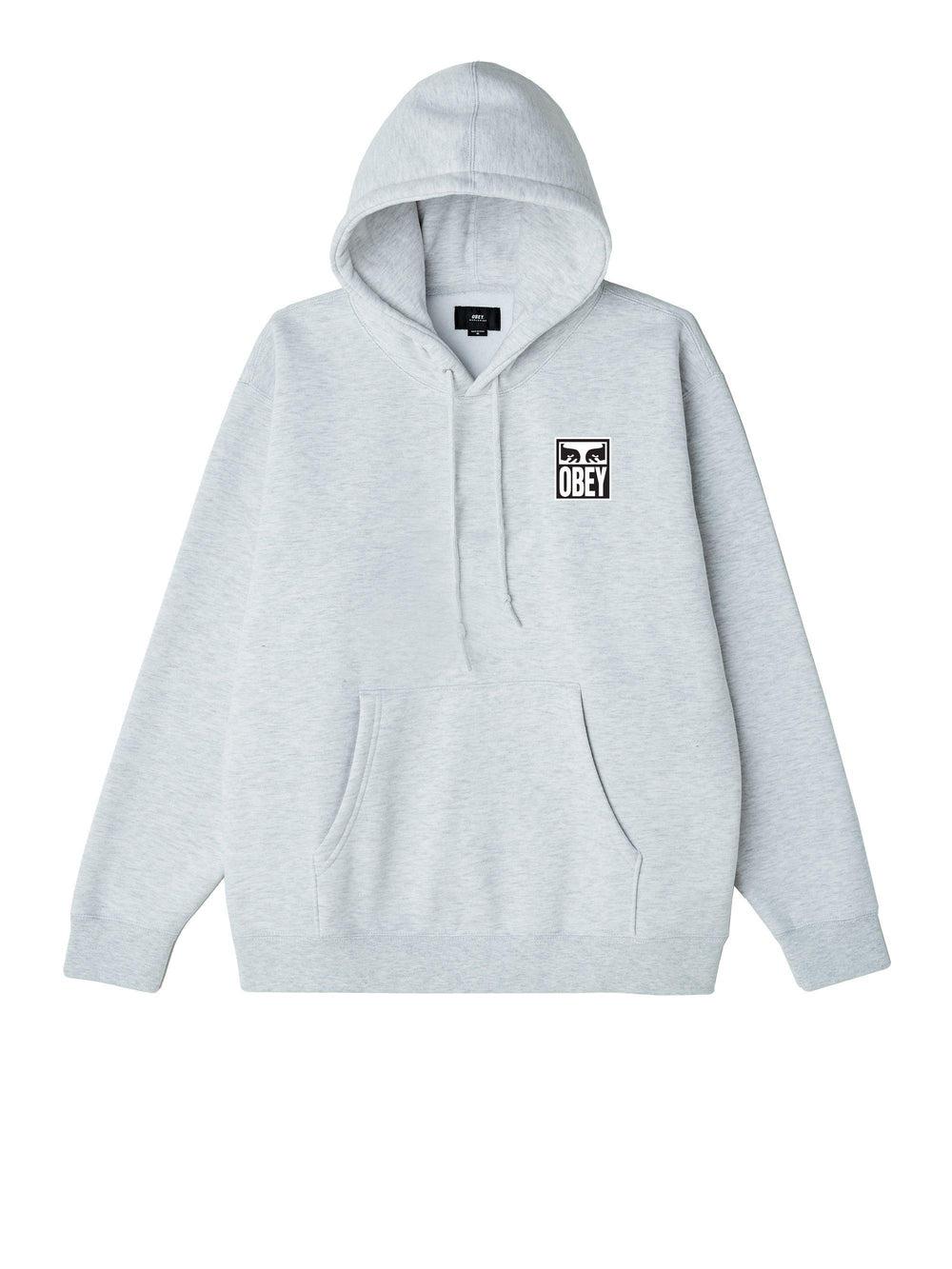 Obey Worldwide Eyes Icon Hoodie in Grey-The Trendy Walrus