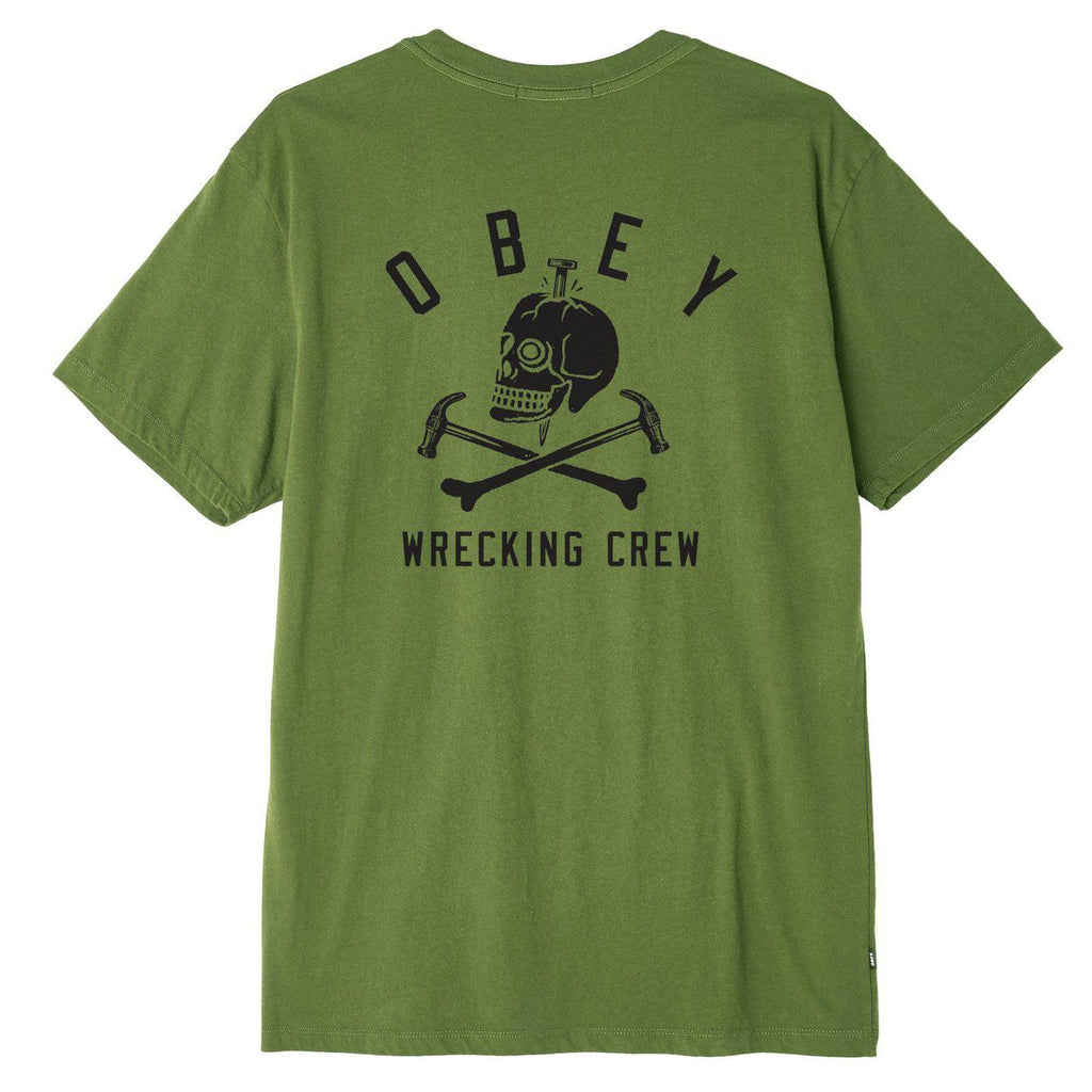 Obey Wrecking Crew Superior Tee-The Trendy Walrus
