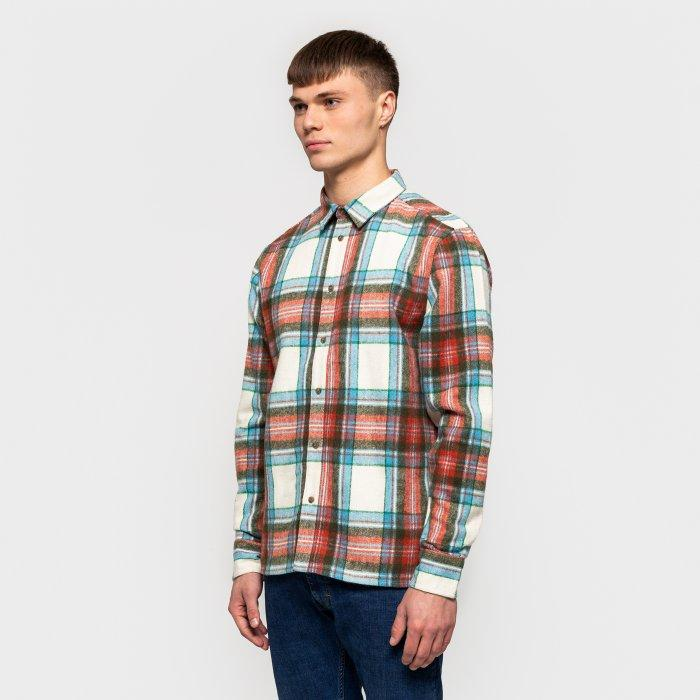 RVLT Peter Plaid Flannel Shirt-The Trendy Walrus