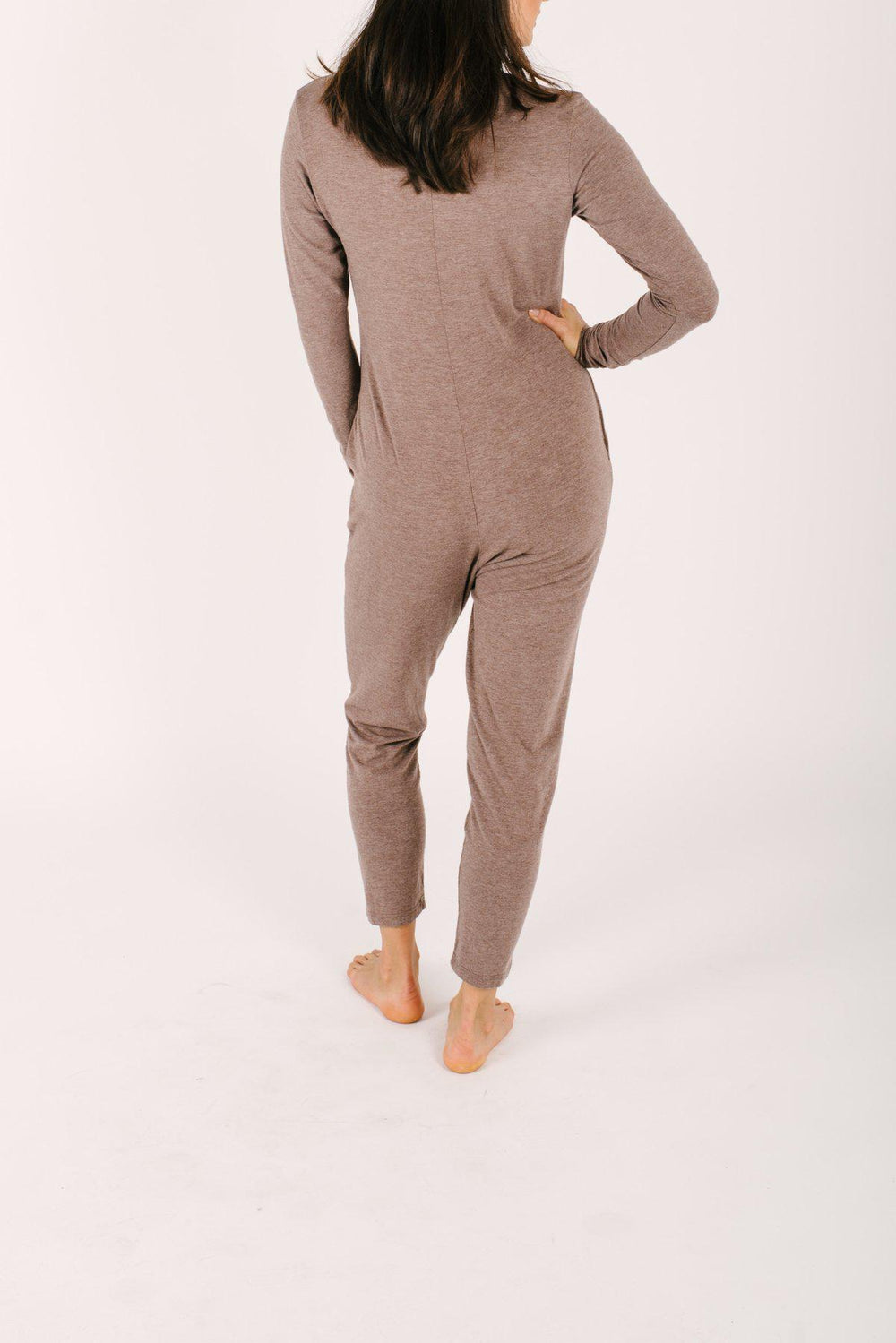 Smash+Tess Friday Romper in Chai Latte-The Trendy Walrus