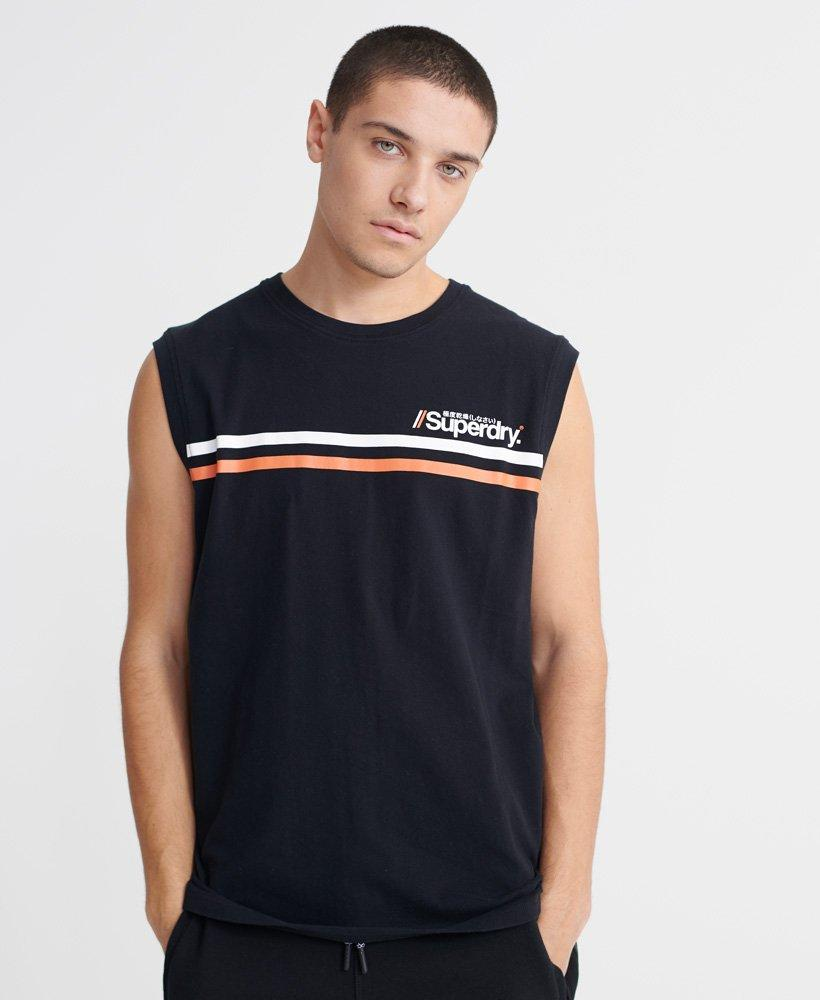 Superdry Core Logo Sport Stripe Tank-The Trendy Walrus