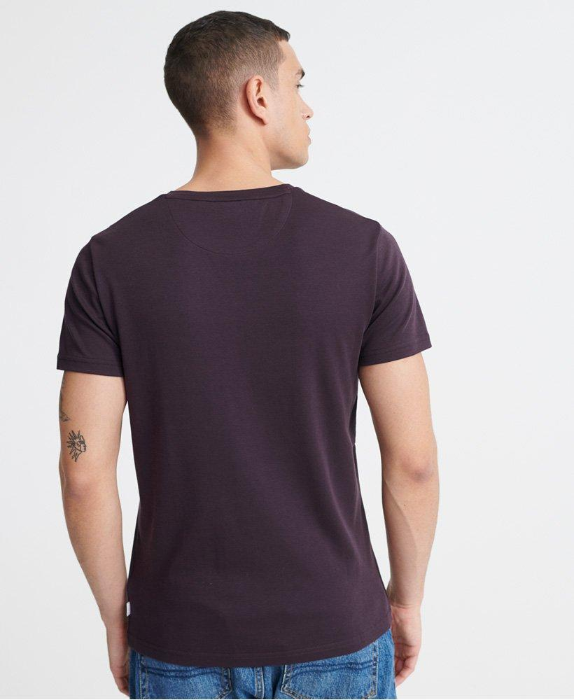 Superdry Edit Jersey Tee in Purple-The Trendy Walrus