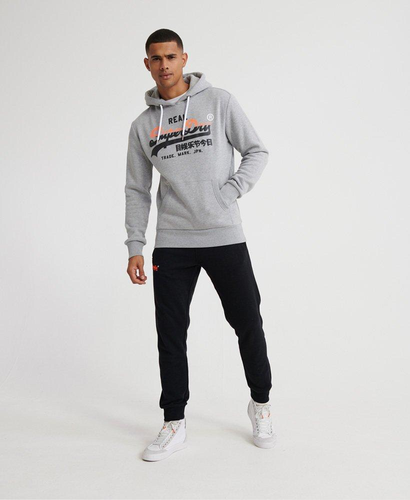 Superdry Vintage Logo Stripe Hoodie-The Trendy Walrus
