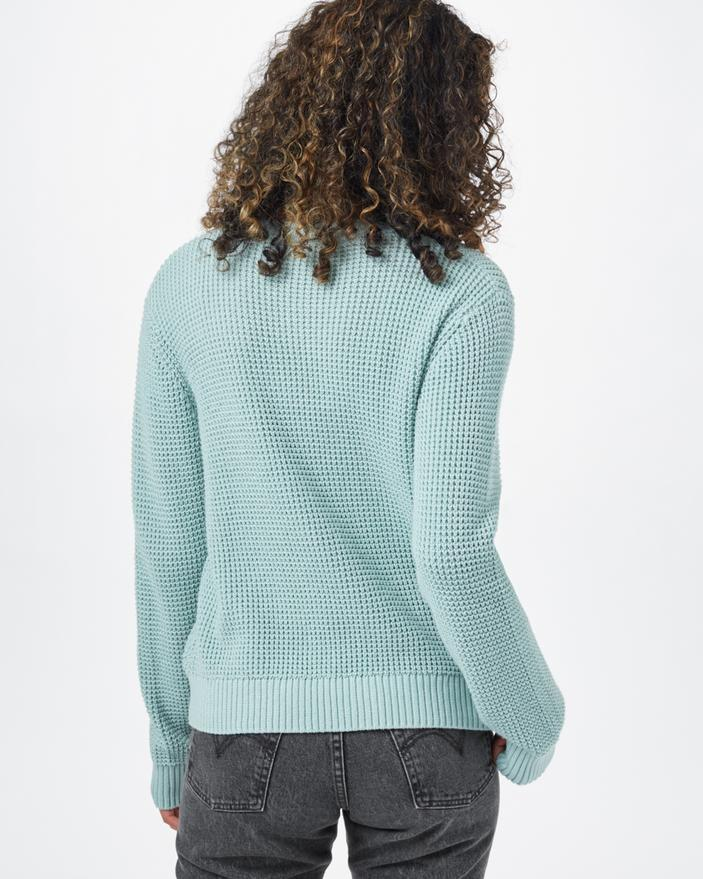 Tentree Highline Cotton Crew Sweater in Blue-The Trendy Walrus