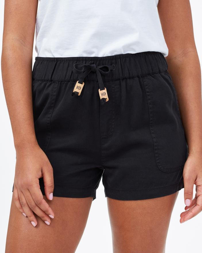 Tentree Instow Shorts in Black-The Trendy Walrus