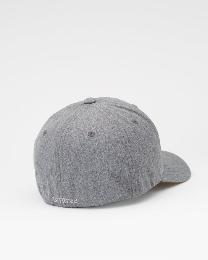 Tentree Logo Cork Brim Destination Thicket Hat in Dark Grey-The Trendy Walrus