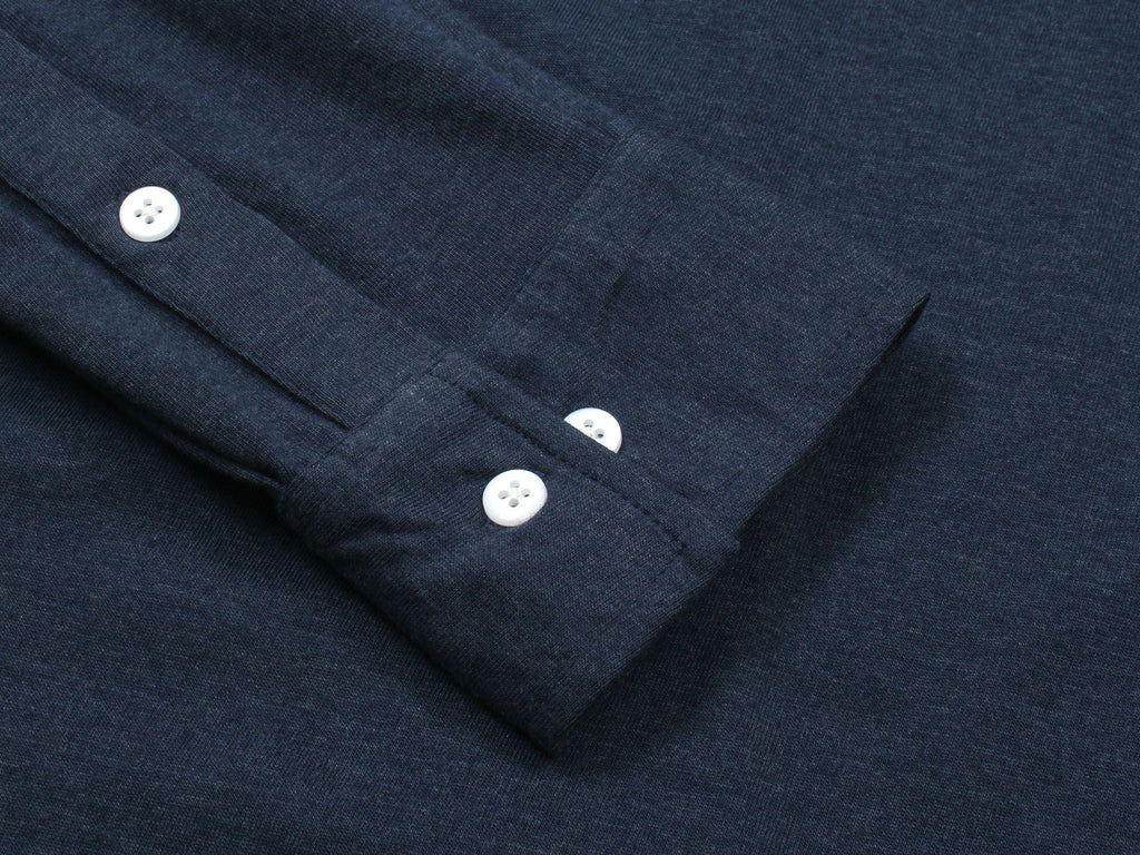 Wemoto Shaw Button-up in Navy-The Trendy Walrus