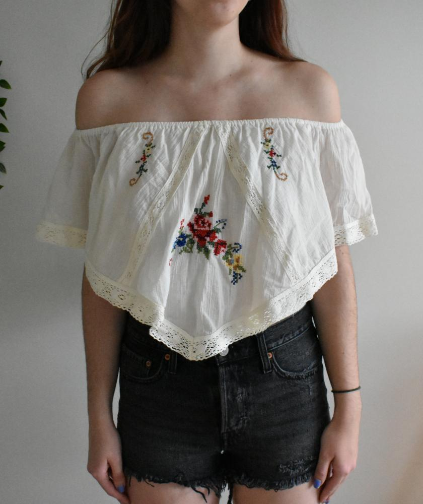 White Crow Antique Lucia Top-The Trendy Walrus