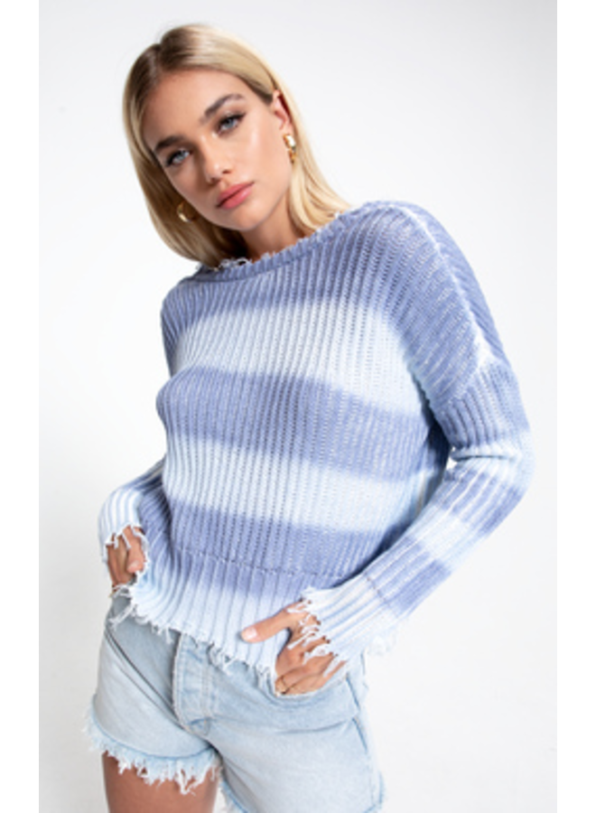 White Crow Catarina Raw Hem Sweater-The Trendy Walrus