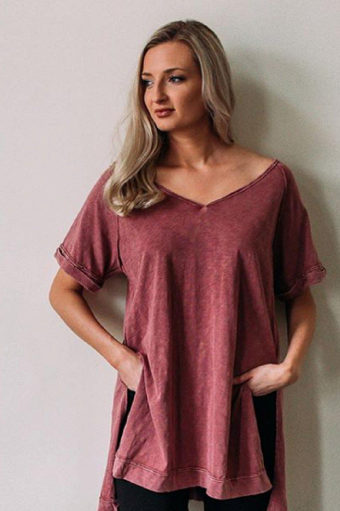 White Crow Macon V-Neck Tunic-The Trendy Walrus