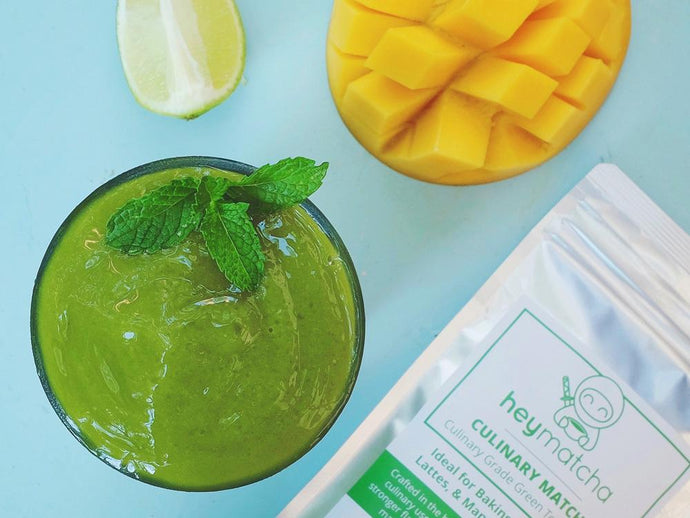 Unlock Your Summer's Day - Matcha Smoothie