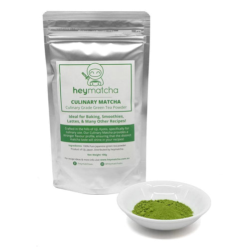 heymatcha culinary matcha 100g with powder