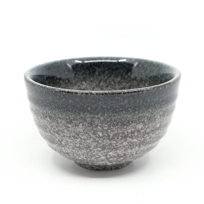 Ceramic Matcha Bowl (Chawan) Starry Black