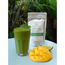 Load image into Gallery viewer, mango smoothie made from heymatcha culinary matcha