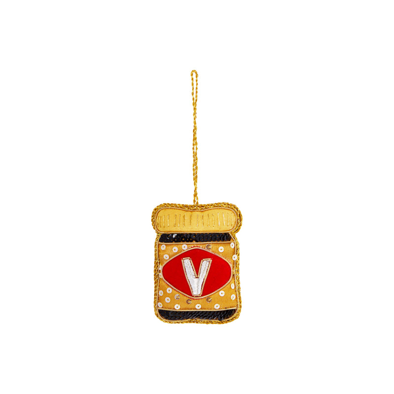 VEGEMITE SEQUIN TREE DECORATION