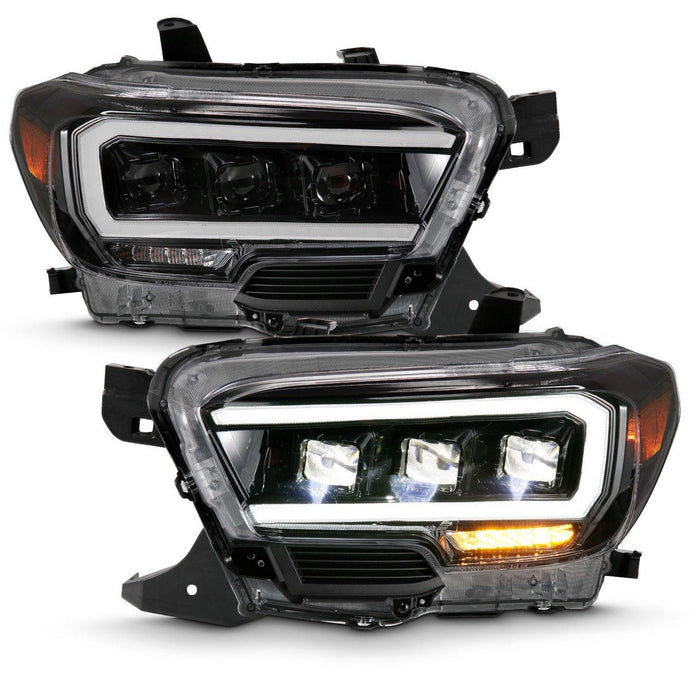 Anzo Led Plank Style Projector Headlights 2016+ Toyota Tacoma - Yota Nation
