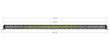 "Load image into Gallery viewer, 42"" SLIM SINGLE ROW LED BAR - Yota Nation"
