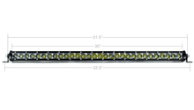 "Load image into Gallery viewer, 32"" SLIM SINGLE ROW LED BAR - Yota Nation"