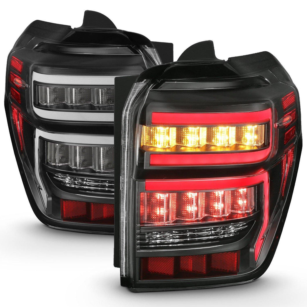 Custom Rear LED Tail Light Black Housing - 2014+ Toyota 4Runner - Yota Nation