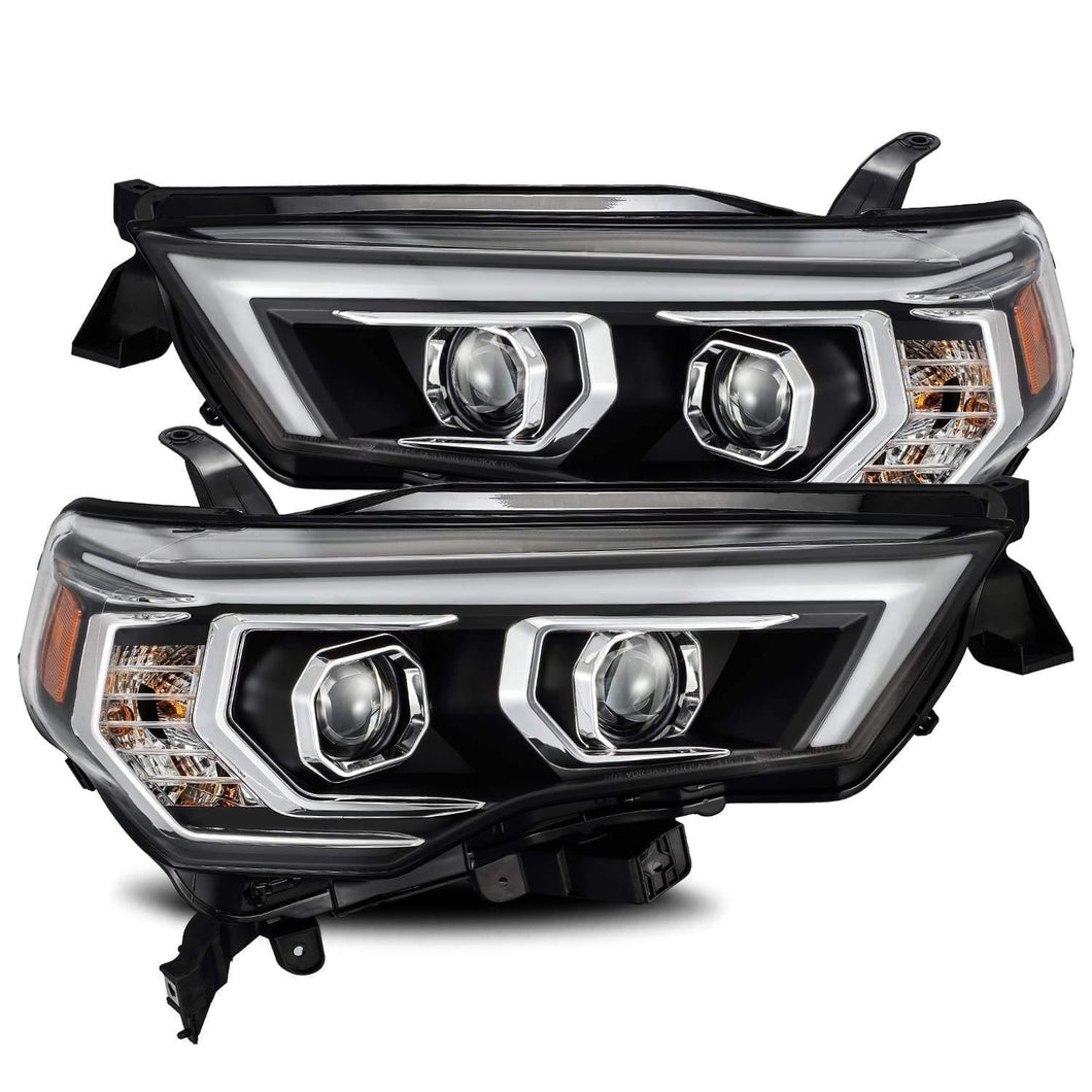 AlphaRex LUXX-Series LED Projector Headlights Black 2014+ Toyota 4Runner - Yota Nation