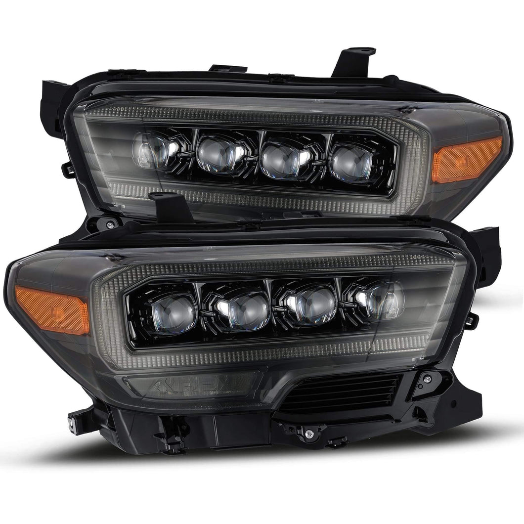 AlphaRex NOVA-Series LED Projector Headlights Alpha-Black 2016+ Toyota Tacoma - Yota Nation