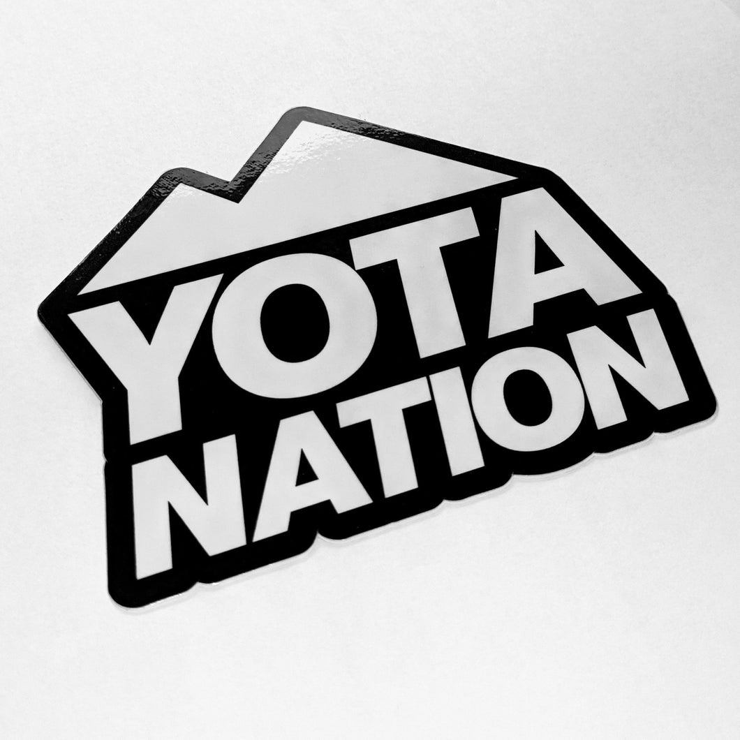 Yota Nation Signature Sticker 4