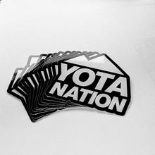 Load image into Gallery viewer, Yota Nation Signature Sticker 4""