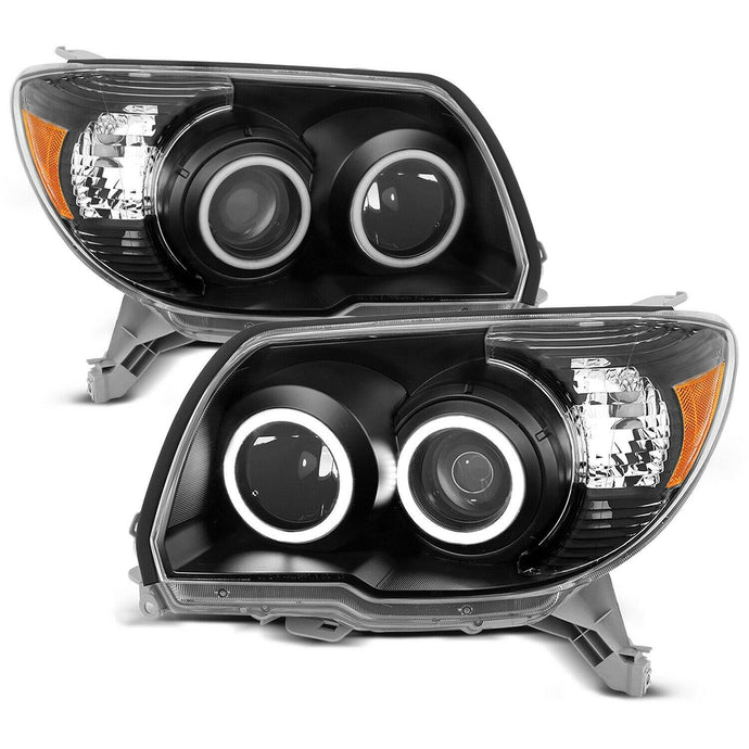 Black Out Headlights with Halos for 2006-2009 4Runners - Yota Nation