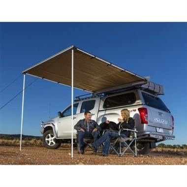 ARB ALUMINUM AWNING WITH LED LIGHT KIT - 8.2' X 8.2' - Yota Nation