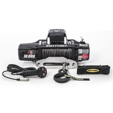 Smittybilt X2O-10K Waterproof Synthetic Rope 10000lb Wireless Winch Gen2 with Fairlead - Yota Nation