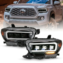 Load image into Gallery viewer, Anzo Led Plank Style Projector Headlights 2016+ Toyota Tacoma - Yota Nation