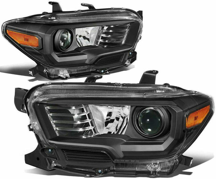 OEM Style Blackout Projector Headlights - 2016+ Toyota Tacoma - Yota Nation